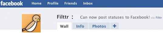Update Facebook Statuses from Fittr